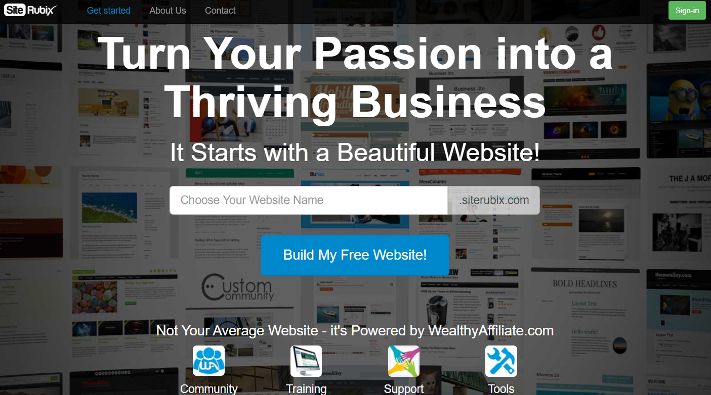 is site rubix the best website builder for a small business