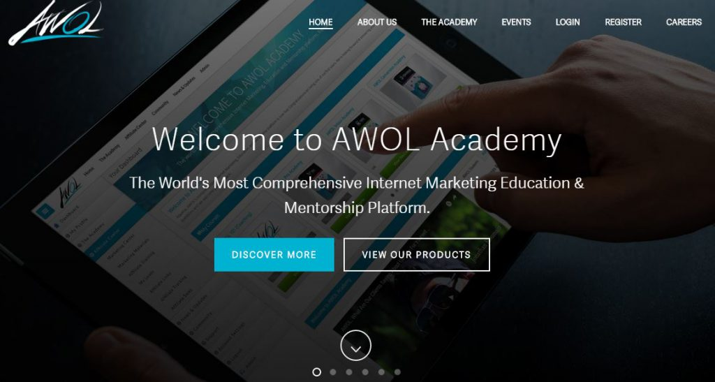 What is AWOL Academy about