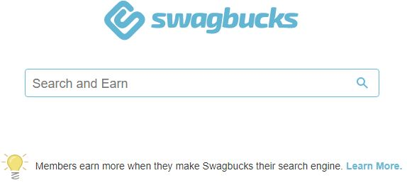 Swagbucks - Search engine