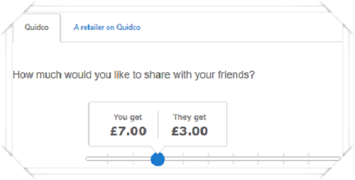 Refer a friend at Quidco