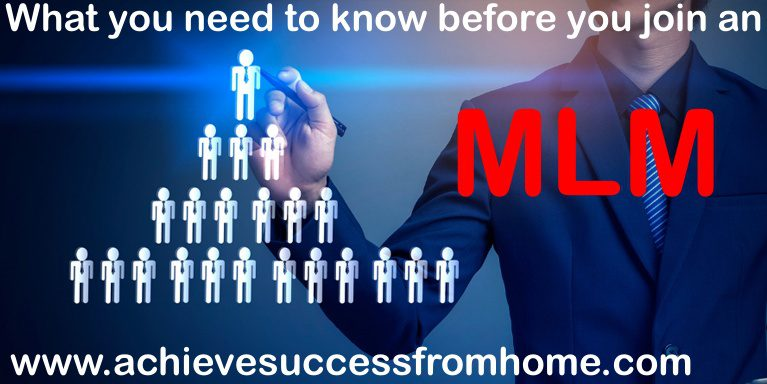 what is an mlm - a business opportunity but only 1-3% actually make any real money