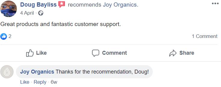 Joy Organics Reviews - #3