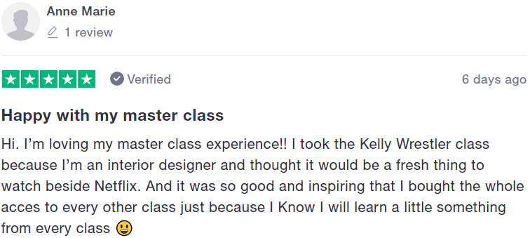 MasterClass Review - #3