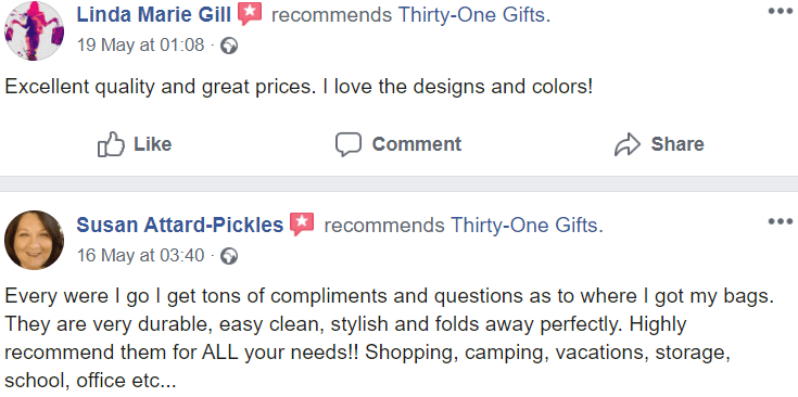 Thirty One Gifts reviews - #2