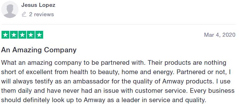 Amway reviews - #7