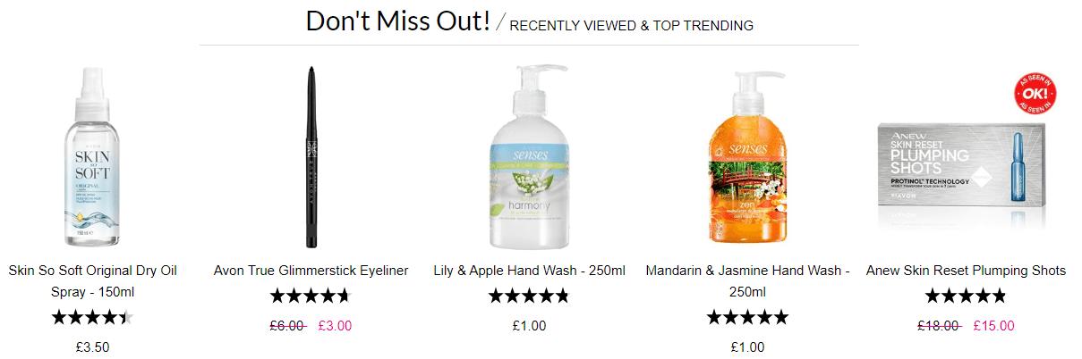Avon - Trending products