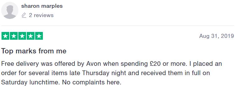 Avon reviews - #3