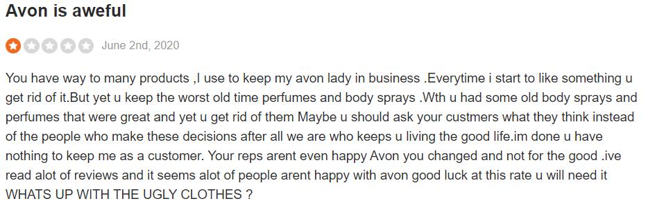 Avon reviews - #4