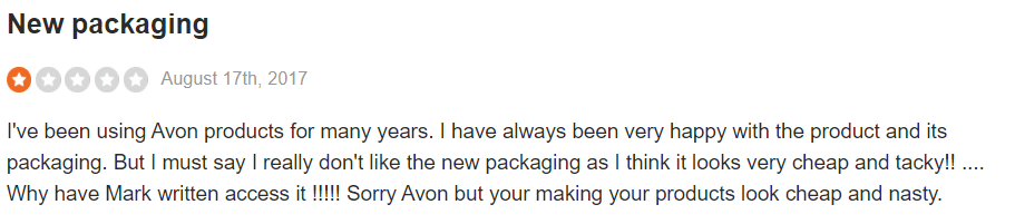 Avon reviews - #5