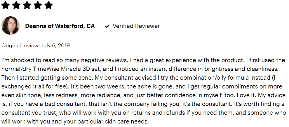 Mary Kay Reviews - #6