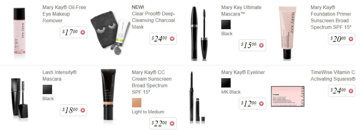 Mary Kay's Best sellers