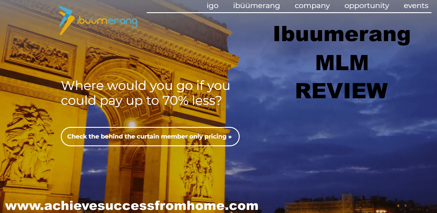 Ibuumerang Travel Review - Legit Travel MLM or Complete Travel SCAM?