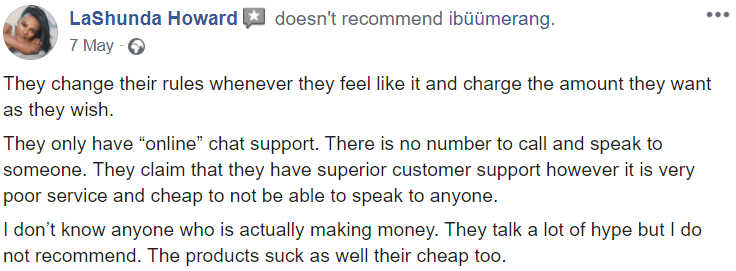 Ibuumerang reviews #2