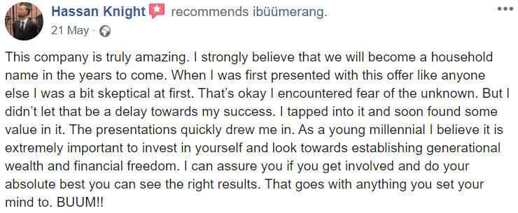 Ibuumerang reviews #4
