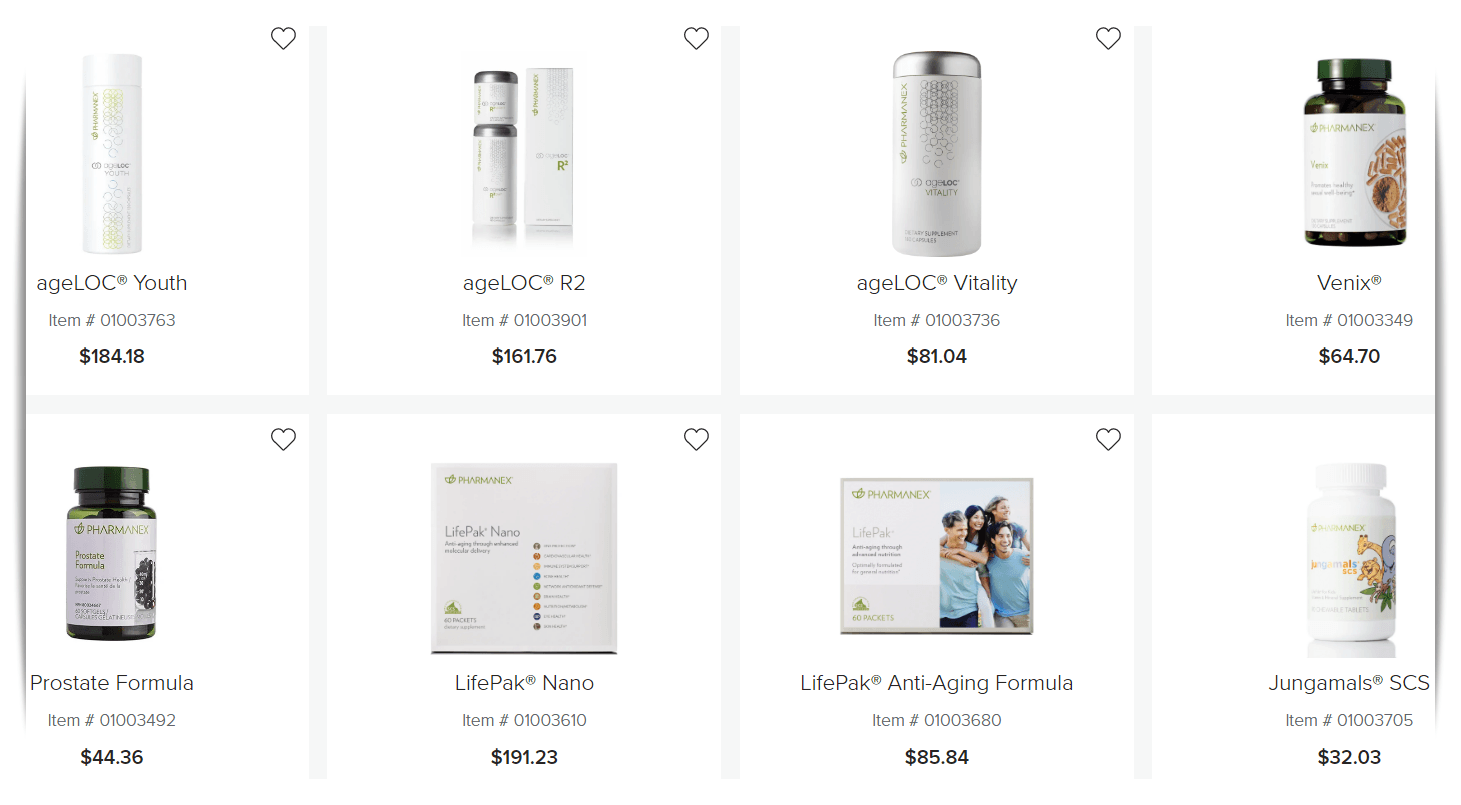Nu Skin products - Most popular