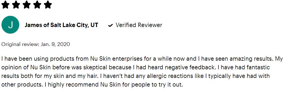 Nu skin reviews #5