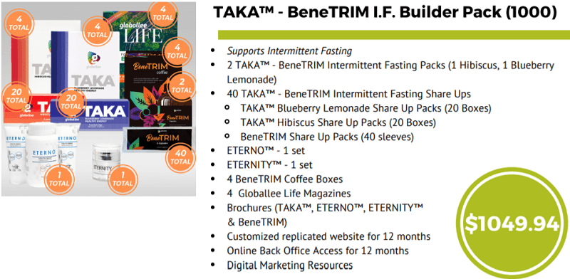 BeneTRIM builder pack
