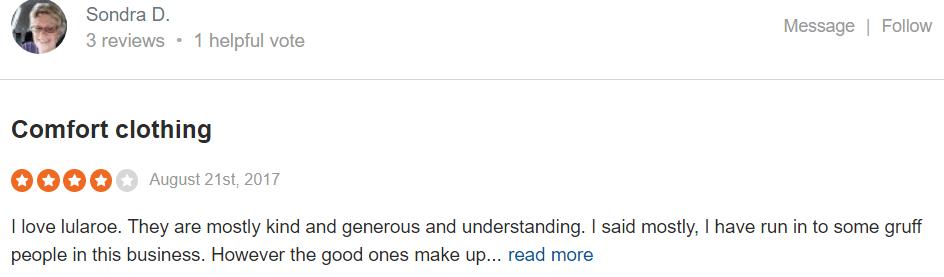 Lularoe reviews #4