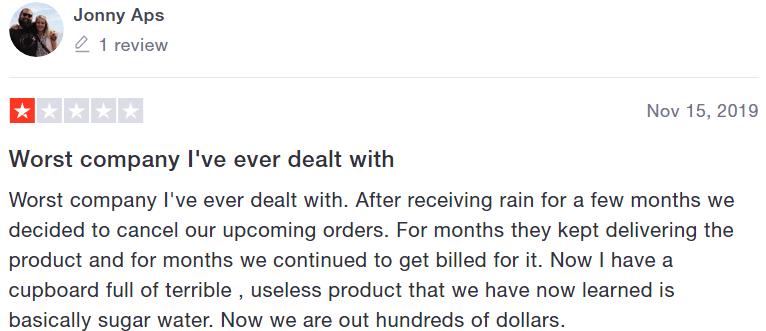 Rain International reviews #3