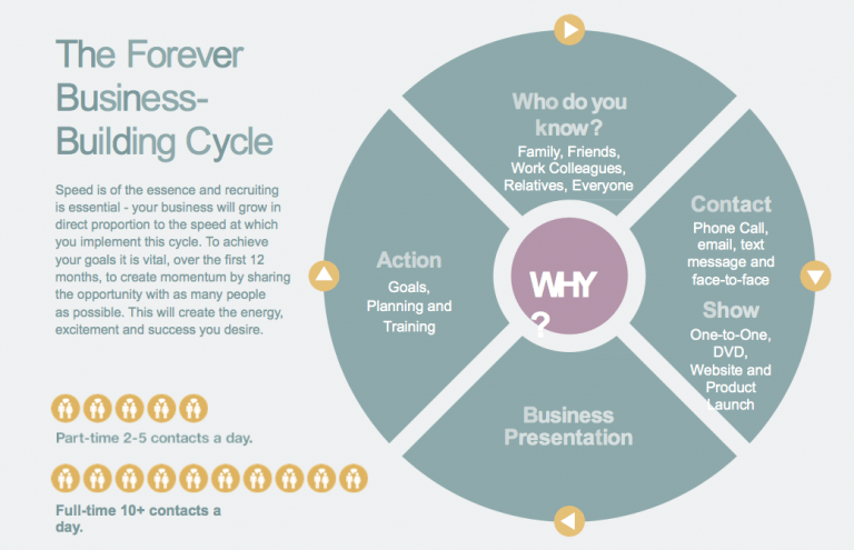 forever living business building cycle