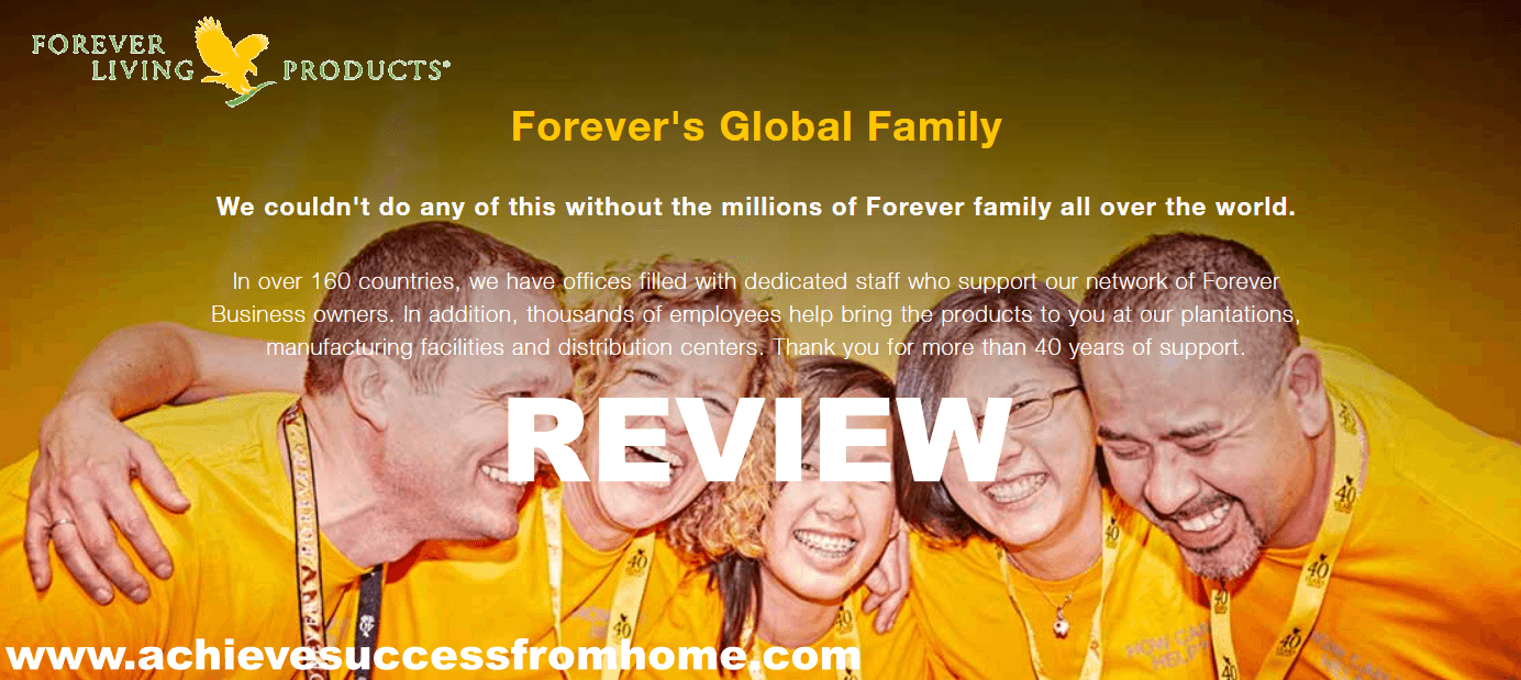 a Forever Living Products Review - GREAT Products, TERRIBLE Business
