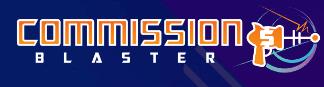 Commission Blaster Logo