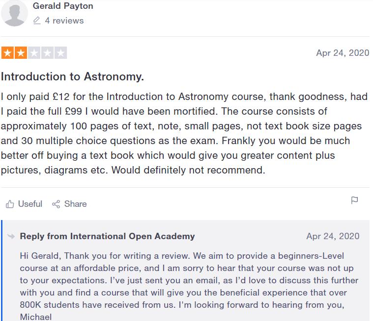 International open academy reviews - #6