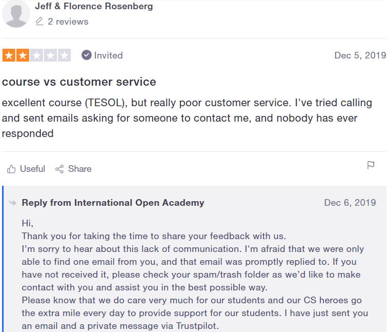 International open academy reviews - #7