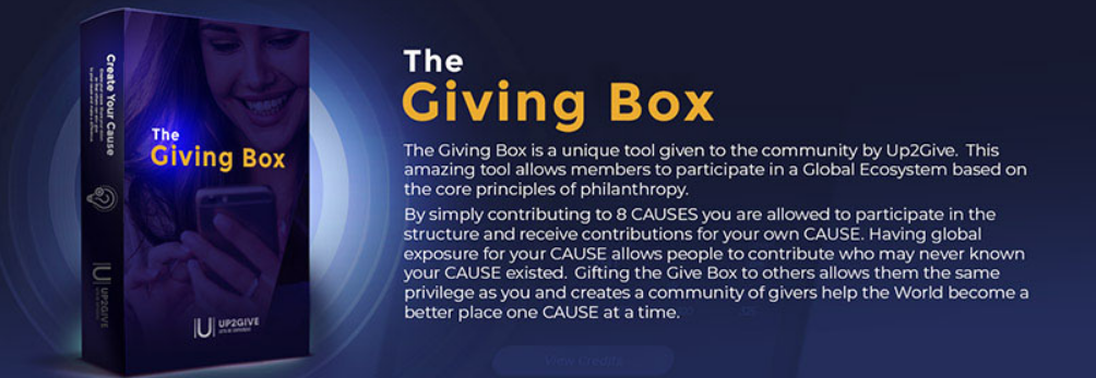 up2give review - the giving box
