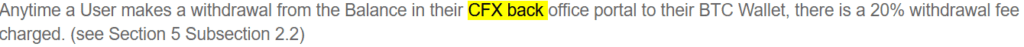Cash forex group reviews - CFX withdrawal fee
