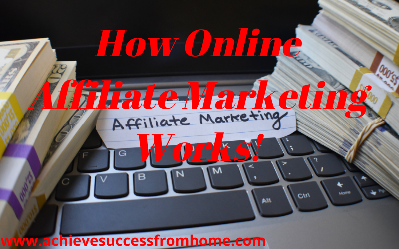 How Online Affiliate Marketing Works - The Simple 3-Step Process