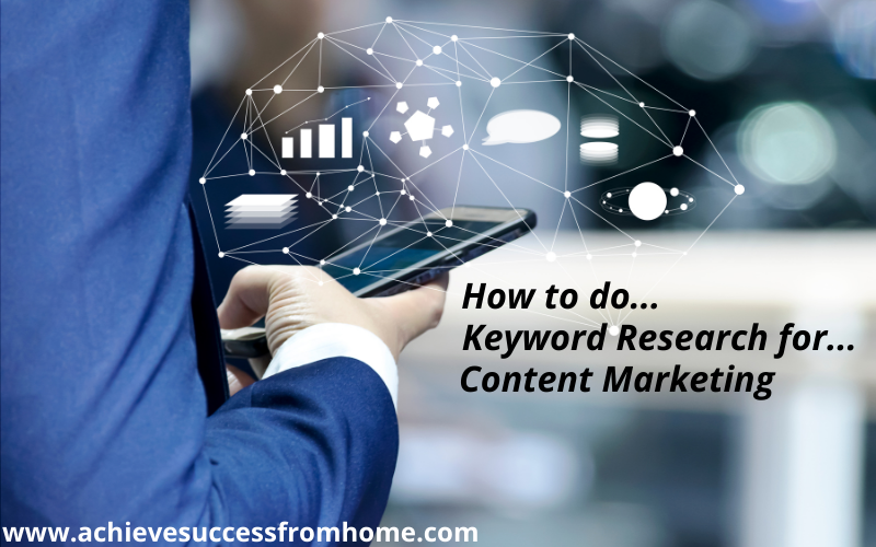 How to do Keyword Research for Content Marketing - A Beginners Guide!