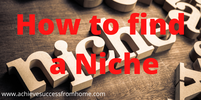 How online affiliate marketing works -How to find a Niche
