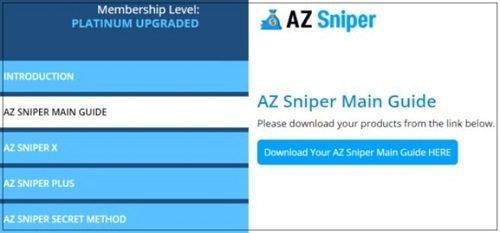 AZ Sniper Review - Inside AZ Sniper