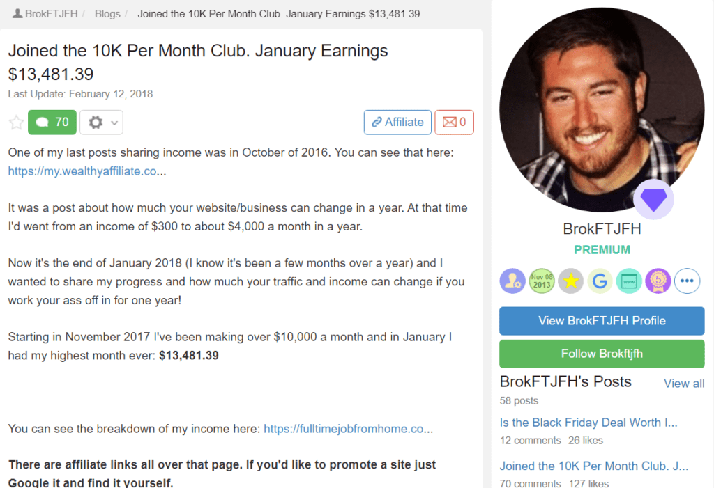 Is Wealthy Affiliate real or a scam - #29
