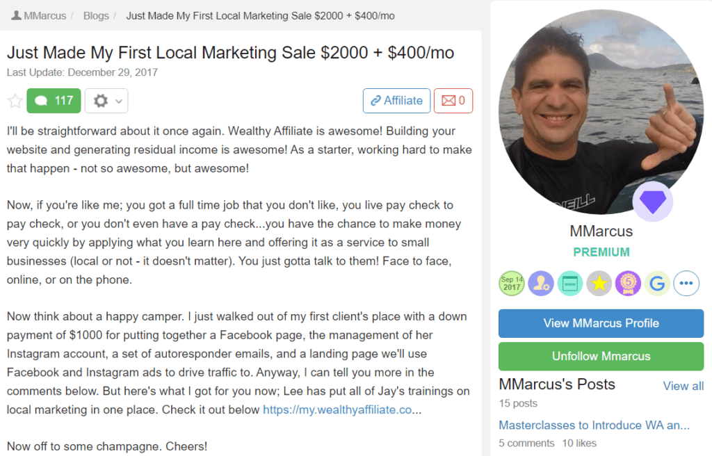Is Wealthy Affiliate real or a scam - #32