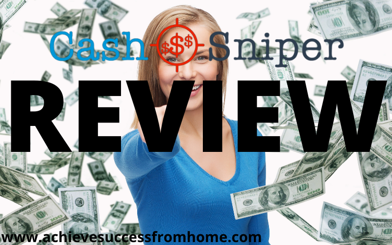 The Cash Sniper Review - Please Don't Waste Your Money On This Product!