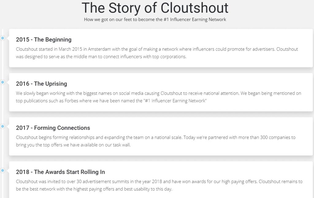 Cloutshout Review - The CloutShout story