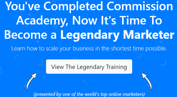 Commission Academy review - Legendary Marketer