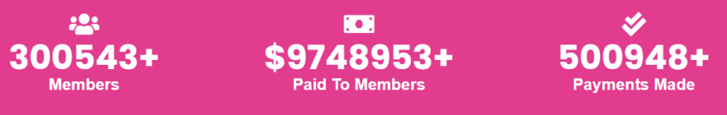 Stackpay review - Number of members and pay outs