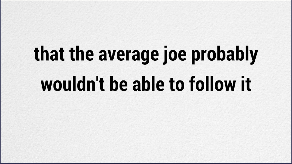 The Click wealth system review - Average joe wouldn't be able to follow it