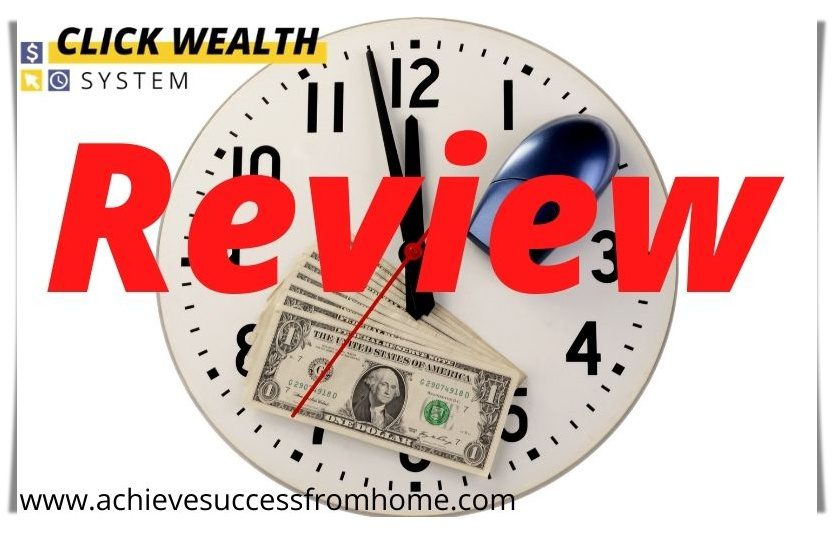 The Click Wealth System Review - Do you really think that clicking a few buttons is going to make you Rich?