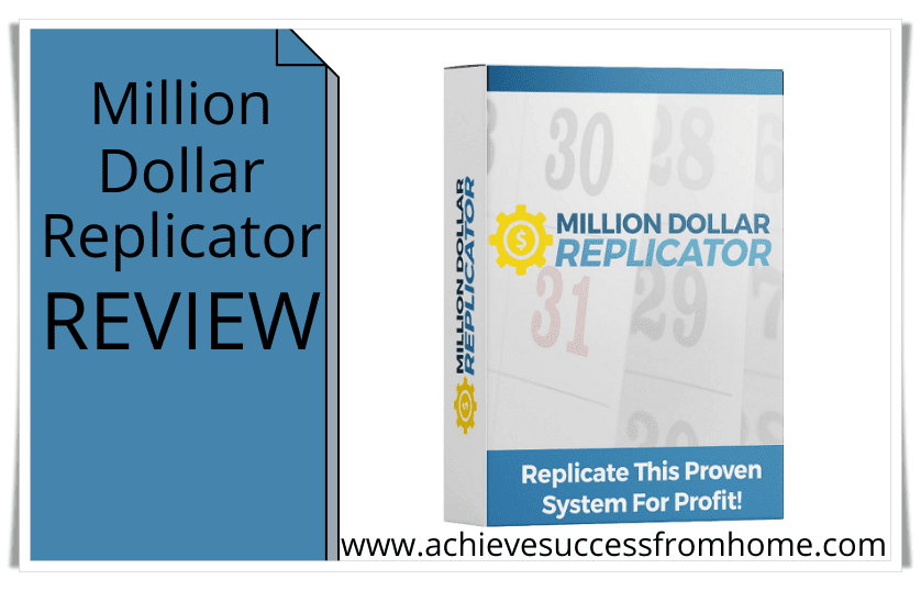 The Million Dollar Replicator Review - Don't Waste Your Time and Money on This System