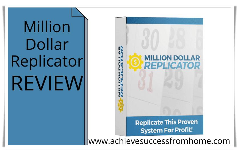 the million dollar replicator review