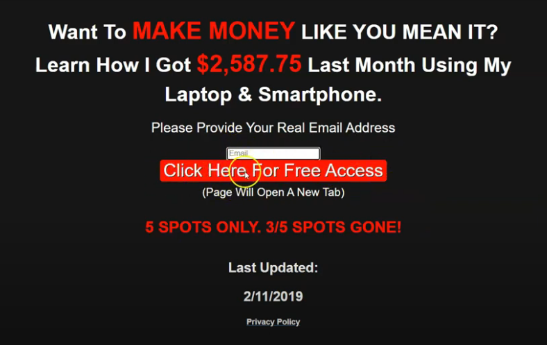 the super funnels review - landing page
