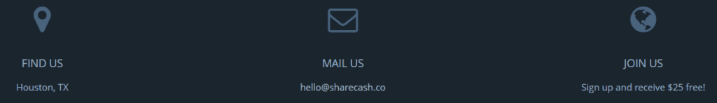 what is the sharecash scam - Find them in Huston, Texas