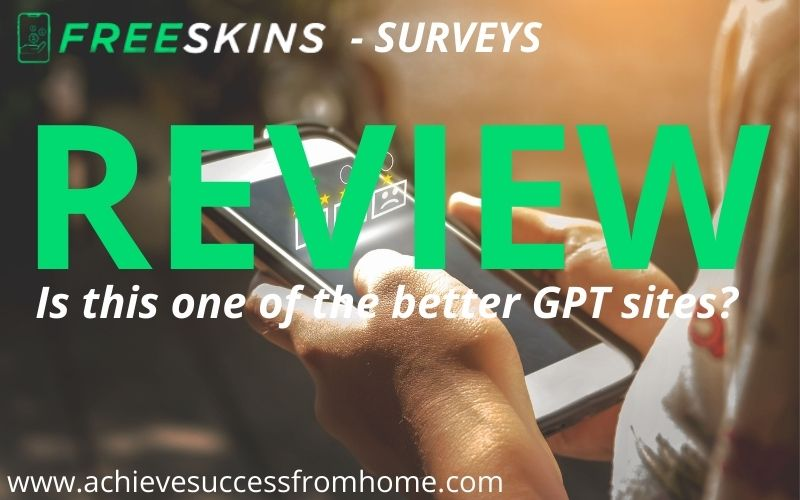 Freeskins Review - One of the better GPT sites we have reviewed!