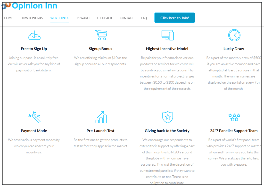 Opinion Inn Review - Why join Opinion Inn