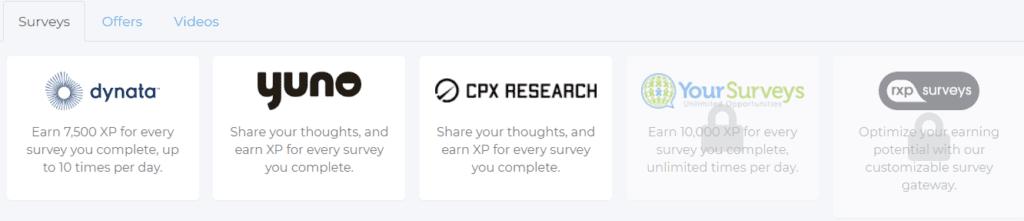 Reward XP review - Survey routers