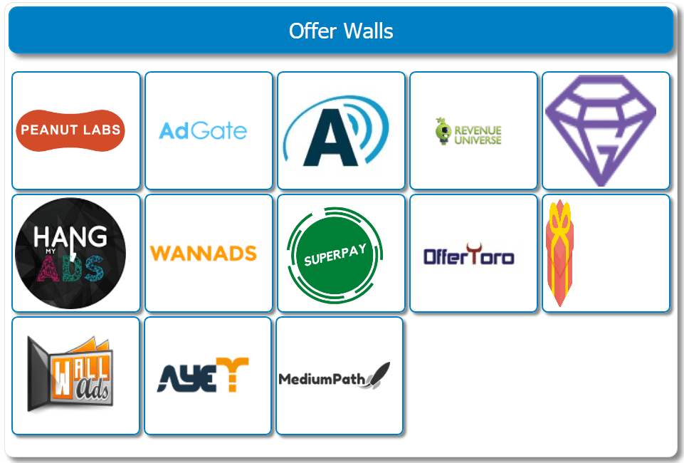 SuperPayMe Review 2021 - Offer walls